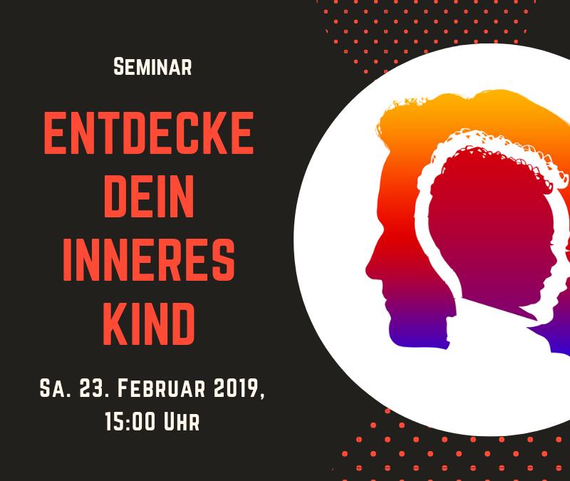 Seminar Sa. 23 Feb. 2019, 15:00 Uhr